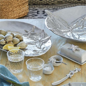 Seahorse Spoon & Starfish Spreader Set-Table Accessories-|-Mariposa