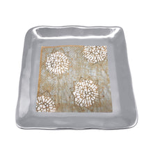 Load image into Gallery viewer, Shimmer Small Square Plate-Canape and Small Plates-|-Mariposa