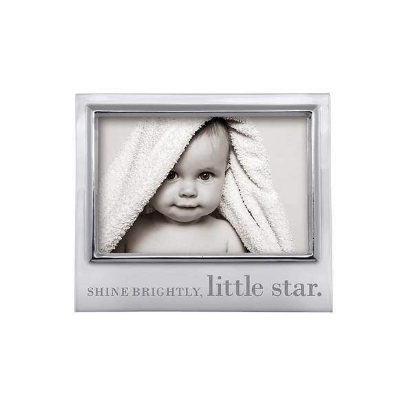 SHINE BRIGHTLY LITTLE STAR Signature 4x6 Frame | Mariposa Photo Frames