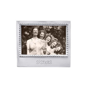 SISTERS Beaded 4x6 Frame | Mariposa Photo Frames