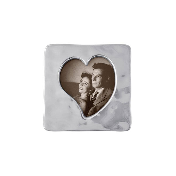 Small Square Open Heart Frame-Photo Frames | Mariposa