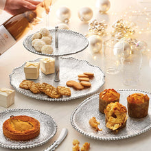 Load image into Gallery viewer, Sparkle Small Round Plate-Canape and Small Plates-|-Mariposa
