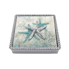 Load image into Gallery viewer, Spiny Starfish Beaded Napkin Box | Mariposa Napkin Boxes and Weights