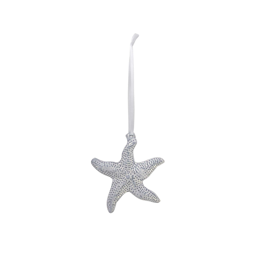 Starfish Ceramic Ornament-Ornaments | Mariposa