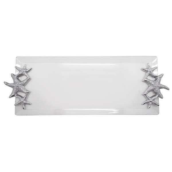 Starfish Handle Acrylic Tray
