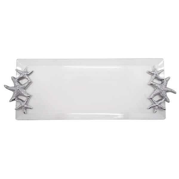 Starfish Handle Acrylic Tray | Mariposa Serving Trays and More