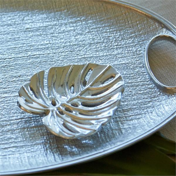 Swiss Cheese Leaf Trinket Dish
