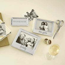 Load image into Gallery viewer, THE GIRLS Beaded 4x6 Frame-Photo Frames-|-Mariposa