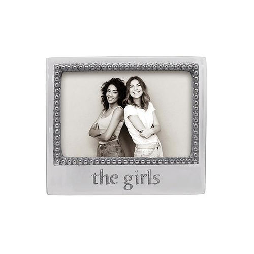 The Girls Beaded 4x6 Picture Frame Mariposa
