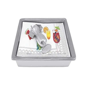 Tropical Drink Signature Napkin Box | Mariposa Napkin Boxes and Weights