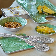Load image into Gallery viewer, Tropical Pineapple Bamboo Napkin Box-Napkin Boxes and Weights-|-Mariposa
