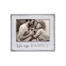Load image into Gallery viewer, WE ARE FAMILY Beaded 5x7 Frame | Mariposa Photo Frames