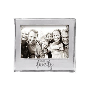 WE ARE FAMILY Signature 5x7 Frame | Mariposa Photo Frames