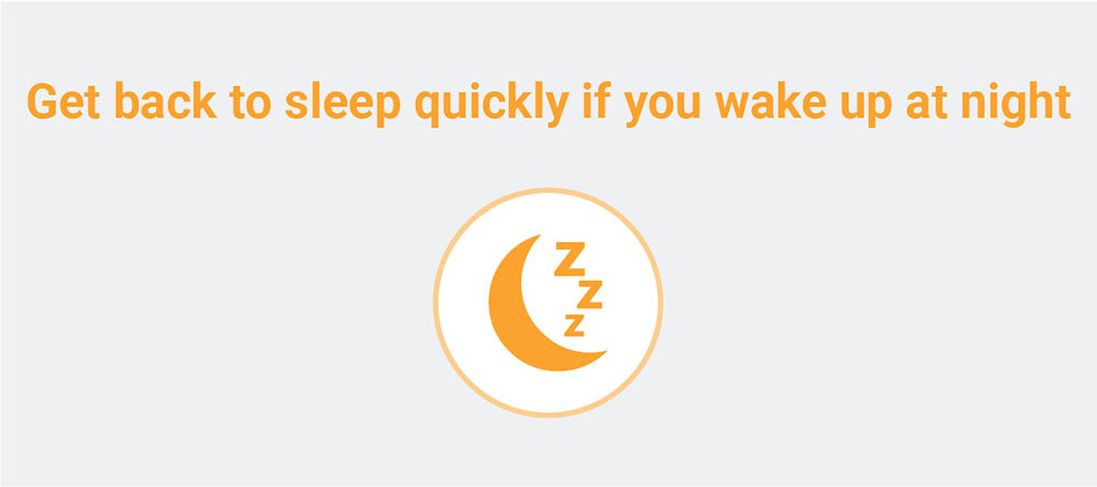 Get back to sleep quickly
