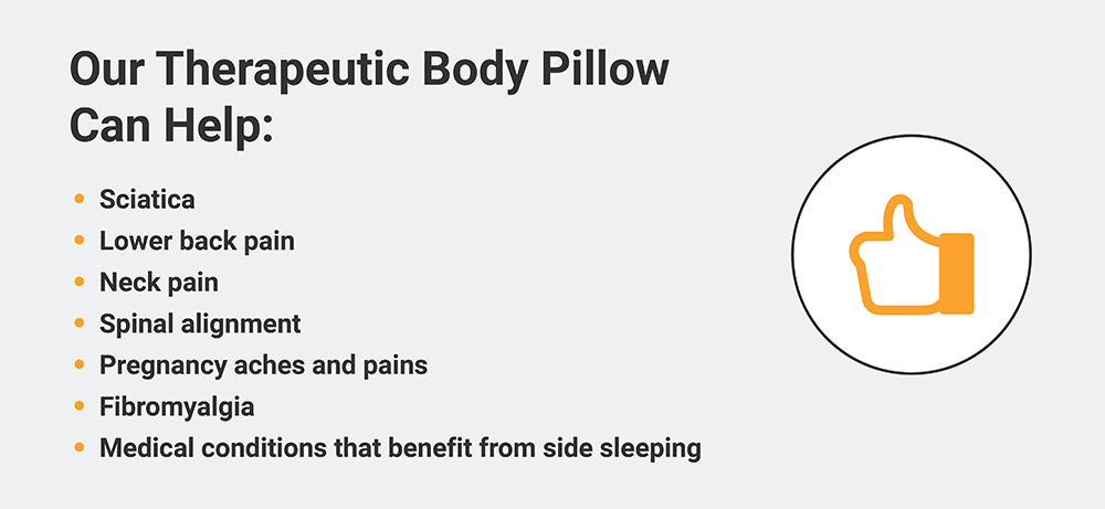 Benefits of MedCline's Therapeutic Body Pillow