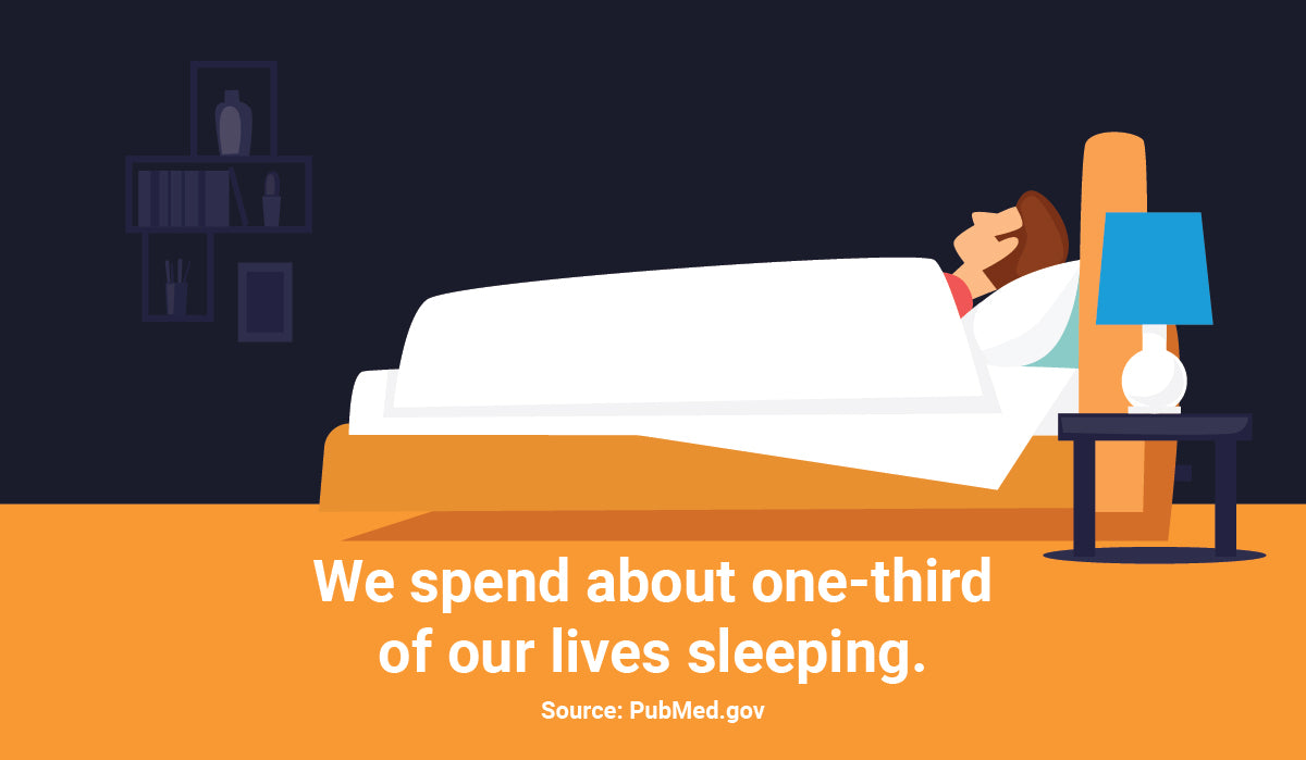 sleeping time infographic