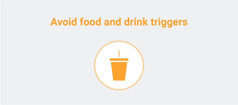 avoid trigger foods icon