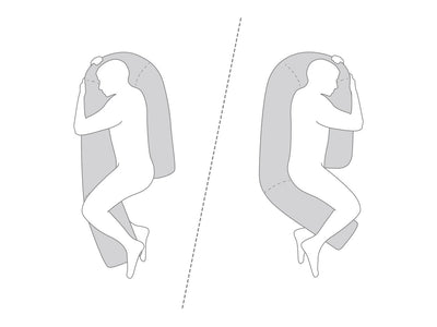 body pillow diagram