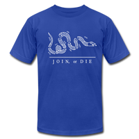 Join or Die Tee - royal blue