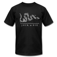 Join or Die Tee - black