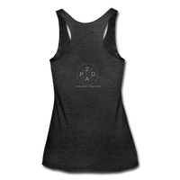 Women's Whiskey Bottle Tank - heather black