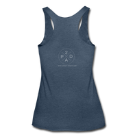 Women's Whiskey Bottle Tank - heather navy