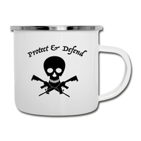 Pirate Camper Mug - white