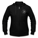 Gildan Heavy Blend Women's Zip Hoodie - black