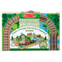 Load image into Gallery viewer, Melissa & Doug Take-Along Railroad
