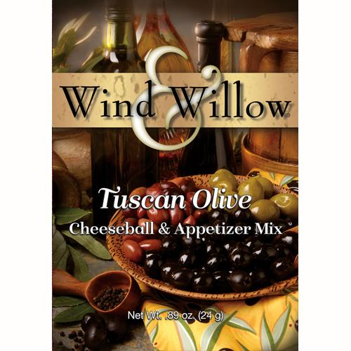 Wind & Willow Cheeseball -Tuscan Olive