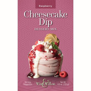 Wind & Willow Cheesecake Dip Mix -Raspberry
