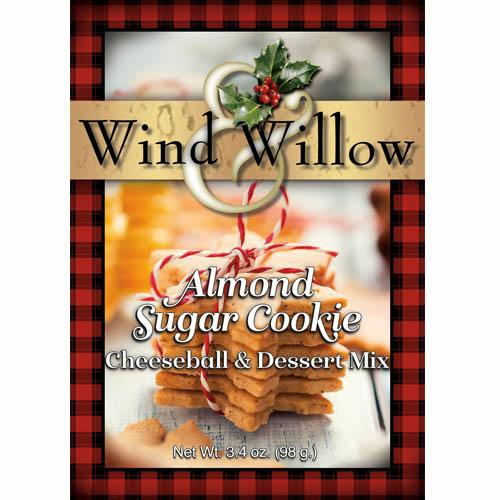 Wind & Willow Cheeseball & Dessert Mix -Almond Sugar Cookie