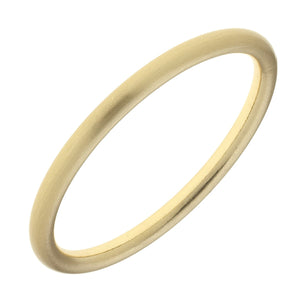 Arabella Bangle -Satin Gold