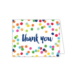 Thank You w/ Dots Notecards