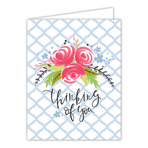 Thinking of You Floral Greeting Card