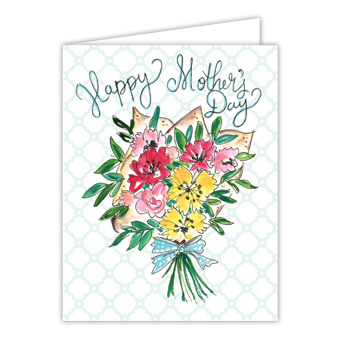 Mother's Day Spring Bouquet Greeting Card