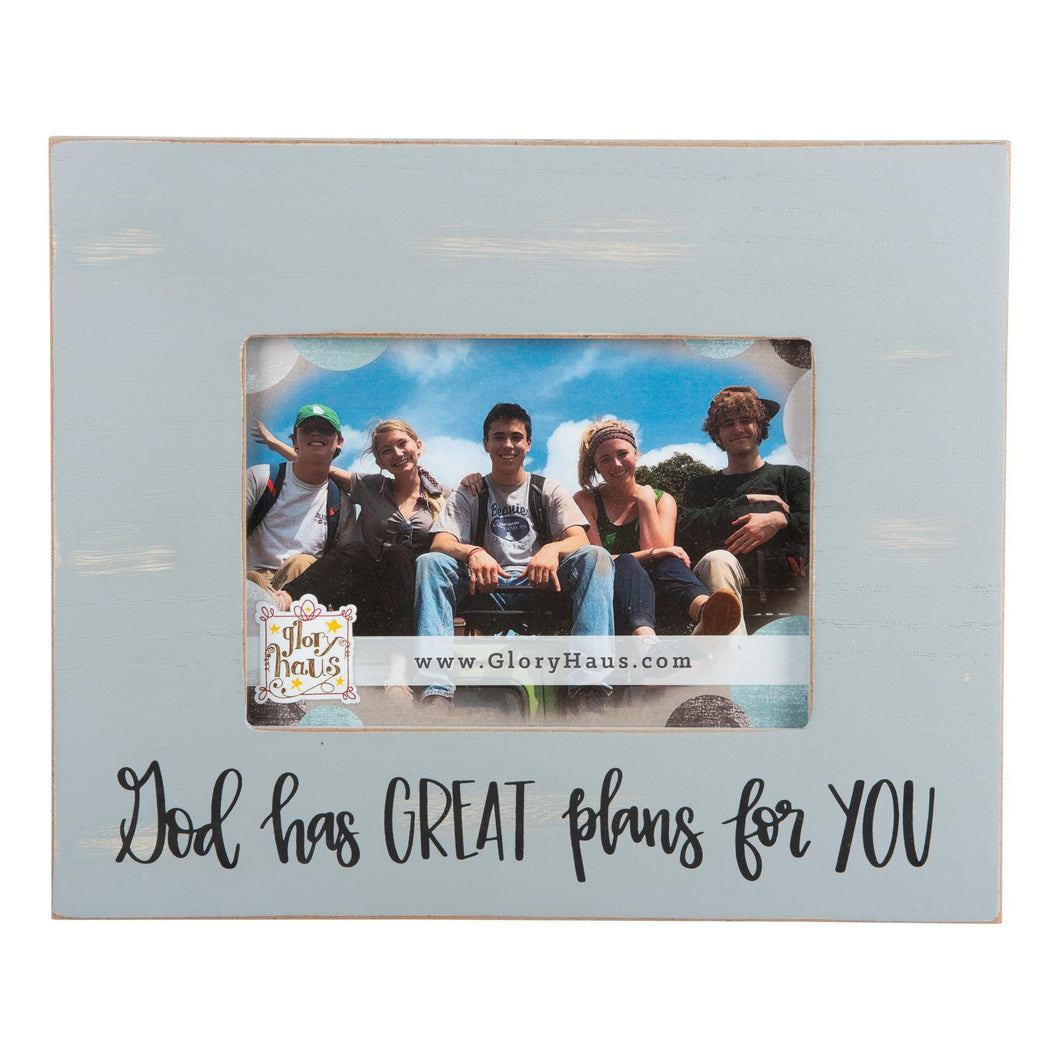 Photo Frame -God Has Great Plans for You