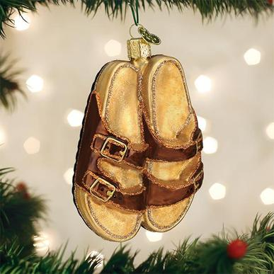 Old World Christmas Sandals Ornament