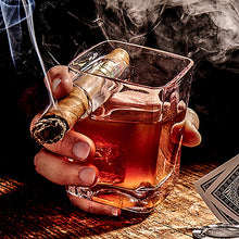 Load image into Gallery viewer, Corkcicle Whiskey Wedge Cigar Glass