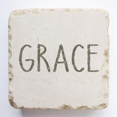Small Scripture Block -Grace