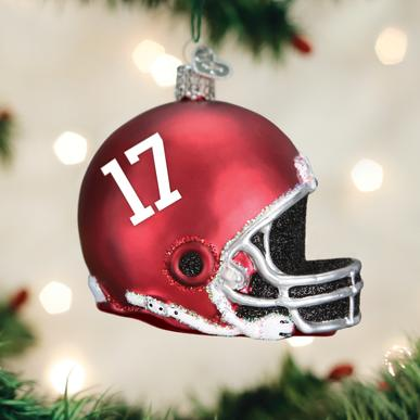 Old World Christmas Alabama Helmet Ornament