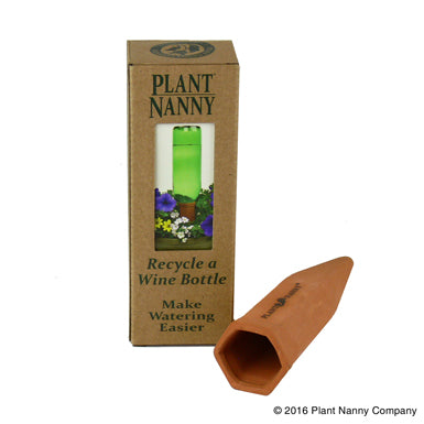 Recycle a Wine Bottle Plant Nanny