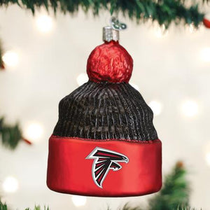 Old World Christmas Atlanta Falcons Beanie Ornament
