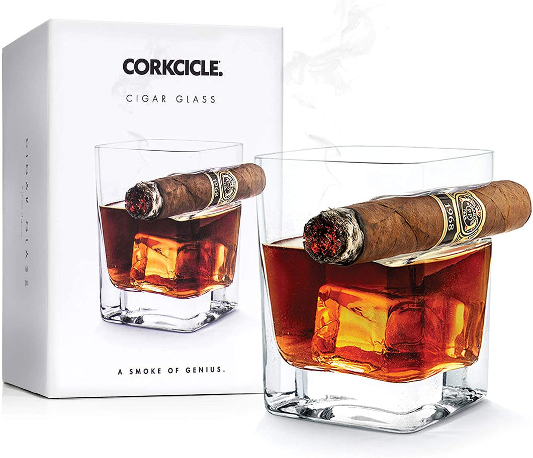 Corkcicle Whiskey Wedge Cigar Glass