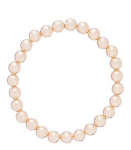 enewton Classic Gold Bead Bracelet -7mm