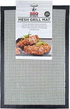Load image into Gallery viewer, Black Mesh BBQ Grill Mat