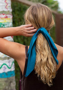 Natural Life Scarf Scrunchie