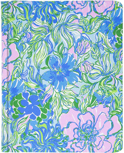 Lilly Pulitzer Concealed Spiral Journal -Party Thyme