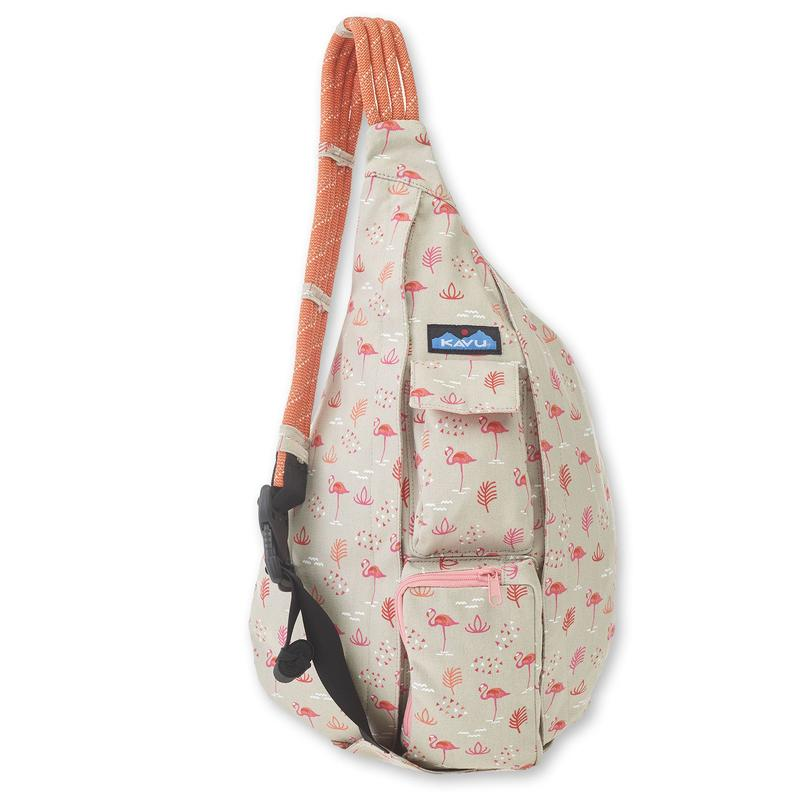 Kavu Rope Bag -Chillin Flamingo