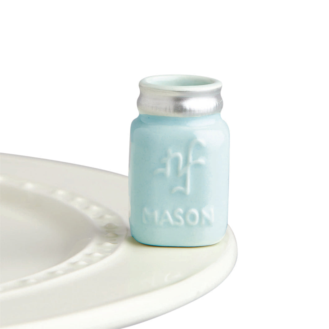 nora fleming mini -you're a-mason! (mason jar)
